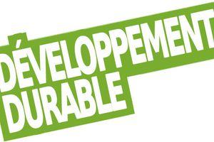 Une nouvelle rubrique dans votre blog: Le développement durable