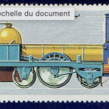 """La locomotive Clapeyron-Cail """"Chemin de Fer du Nord"""""""