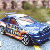 FORD ESCORT RALLY HOT WHEELS 1/64 - car-collector.net