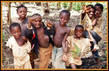 sourires d'enfants