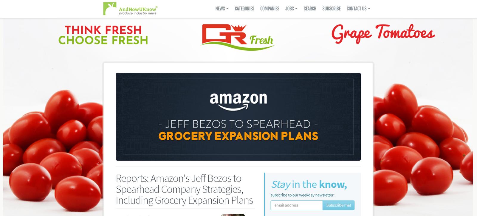 La retraite de Jeff Bezos? S'occuper du format épicerie d'Amazon Fresh Grocery ! On reprend tout depuis le début.