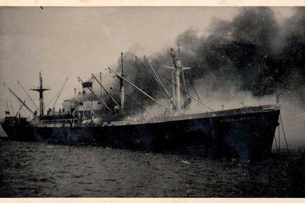 1947. Brest ravagé par l'Ocean Liberty