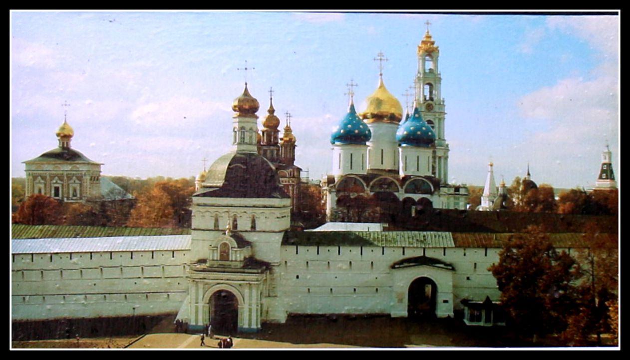Laure de la Trinité-Saint-Serge, monastère à Serguiev Posad