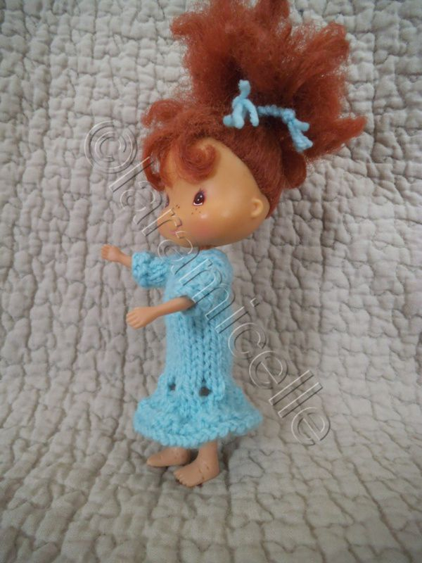 tuto gratuit poupée charlotte : robe ajourée