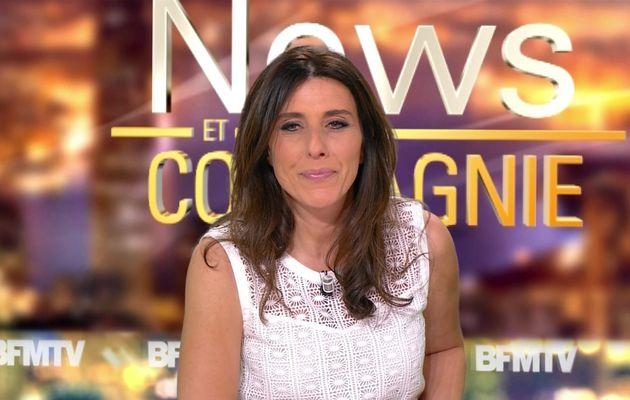 📸4 NATHALIE LEVY @NathalieLevyNC @JohannaCarlosD8 ce soir pour #newsetco @bfmtv #vuesalatele