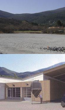 Barrême :Atelier ONF: démarrage du chantier