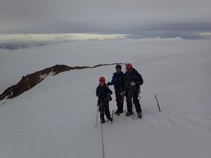 Cayambe volcan
