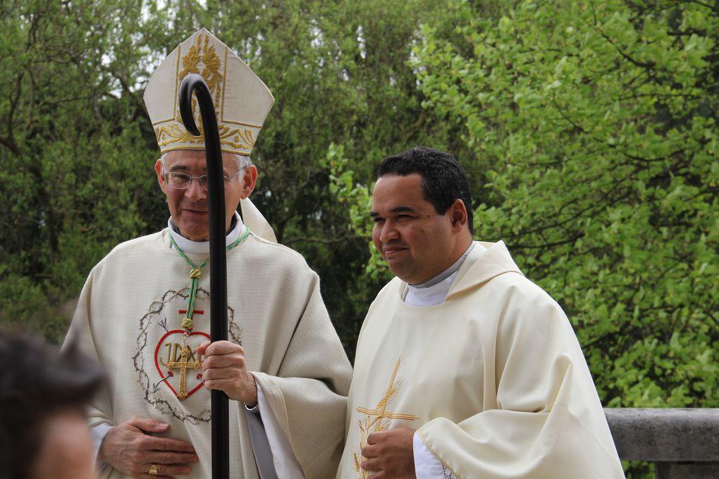 Messe à l'église du Sacré Cœur de Bourg et visite sur la tombe de Sœur Marie du Sacré Cœur Bernaud au cimetière de Bourg en Bresse