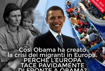 Così Obama ha creato la crisi dei migranti in...