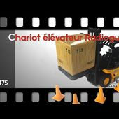 CHARIOT ELEVATEUR TELEGUIDE - CACES - [PEARLTV.FR]