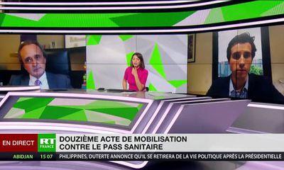 2 octobre 2021 : débat sur le passe sanitaire avec Me Pierre Gentillet, avocat