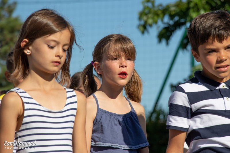 La fête de l'école vue par les CE1