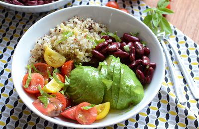 Veggie bowl - version 2 #végétarien