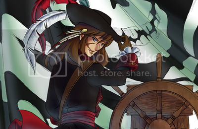 Piracy is BACK !! \o/ (sketchbook pour Japan Expo ?)