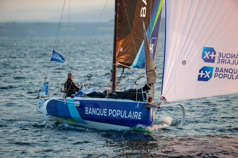 Solitaire du Figaro 2020 – Armel Le Cléac'h en tête sur la deuxième étape