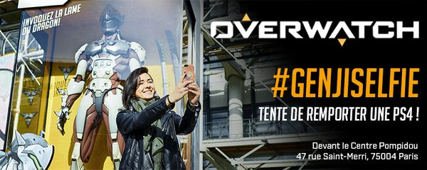 Overwatch, Genji nous fait gagner une PS4 ! #concours