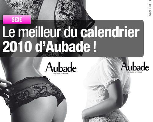 Le meilleur du calendrier 2010 d'Aubade !