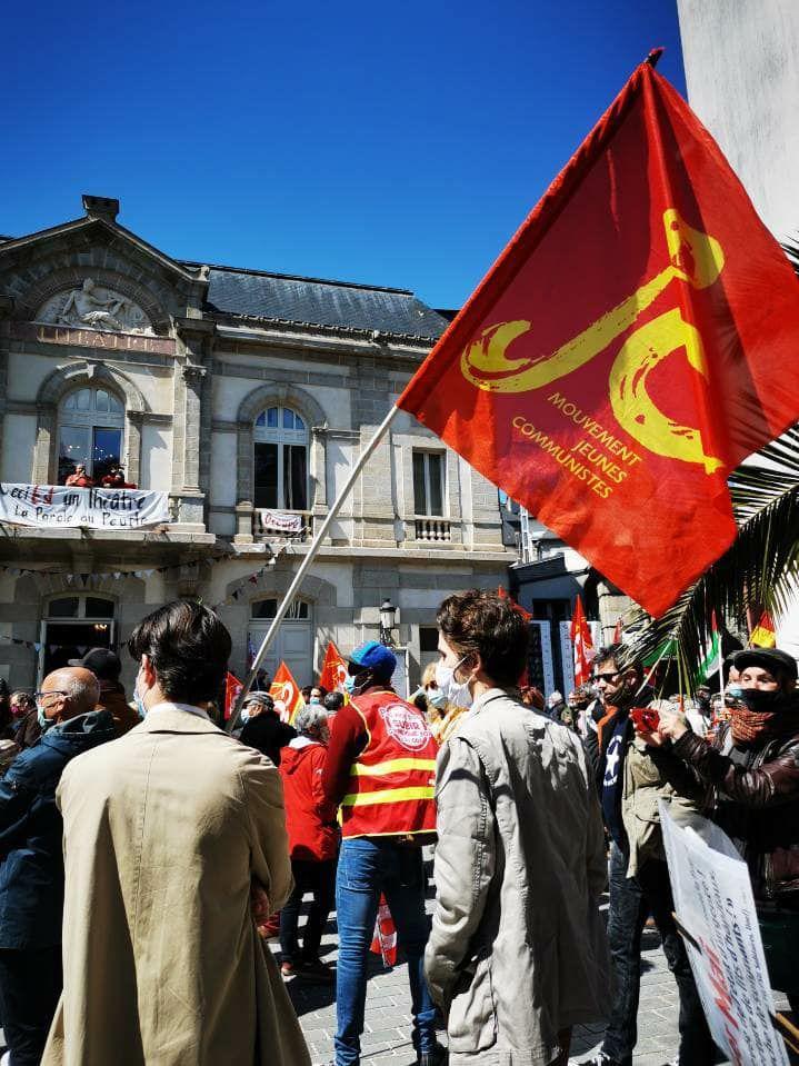 Opposition à la réforme de l'assurance chômage - La non-réponse de Sandrine Le Feur, députée LREM, au courrier du PCF Pays de Morlaix et à notre demande de rencontre