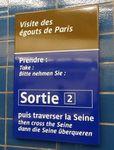 visitez les égouts de Paris