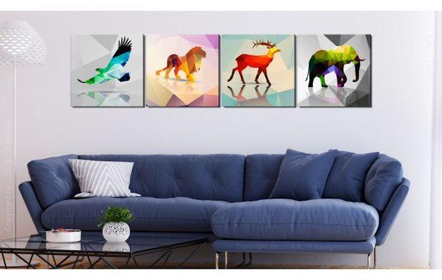 Hauche Farbe in die eigenen vier Wände ein mit Bildern im Pop-Art-Stil