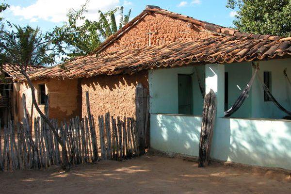 Photo : Maison en pisé