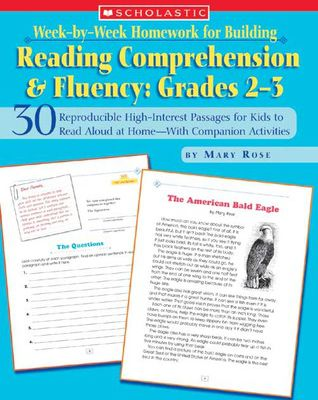 (eBook) DOWNLOAD FREE Week-by-Week Homework for Building Reading Comprehension  Fluency: Grades 2–3: 30 Reproducible High-Interest Passages for Kids to Read Aloud at Home—With Companion Activities By Mary Rose Ebook Online Free