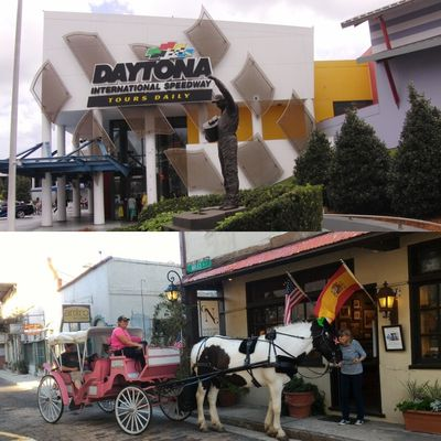 Explore Daytona Beach and St. Augustine