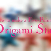How to Make a Five-Pointed Origami Star | Cambridge Imprint