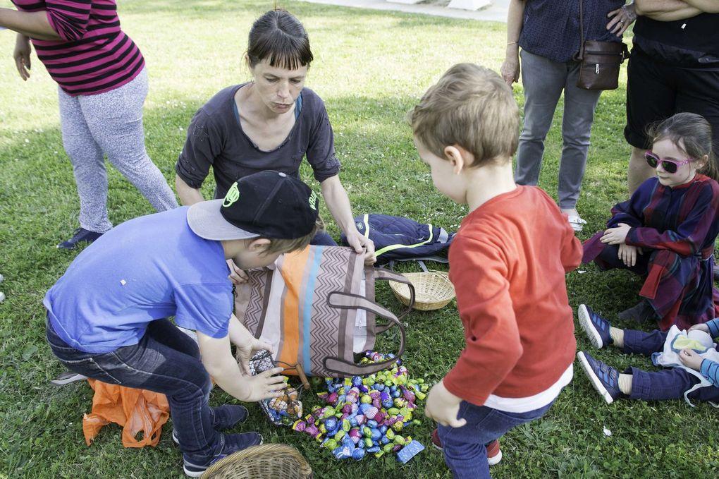 Thézac : Chasse aux œufs et aux déchets !!!