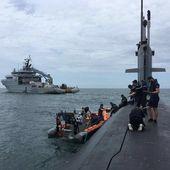 La marine française a patrouillé en mer de Chine méridionale