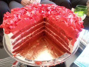 Gâteau Red Velvet - Angel's Kitchen