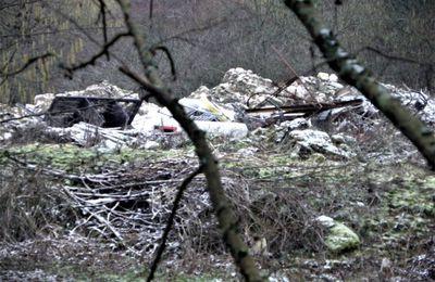Communauté de communes du pays de Valois : Des déchets du BTP déposés illégalement à Crépy en Valois ?