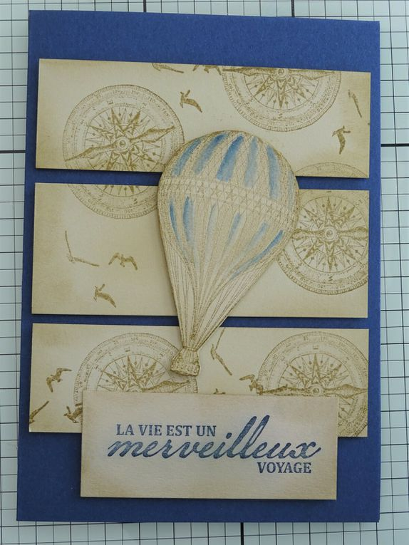 [Stampin'Up!®] exemple d'une carte vintage