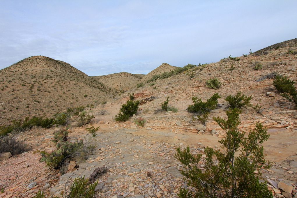 Photographies des paysages - Hot Spring Canyon Trail
