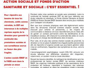Action sociale et FASS : c'est essentiel ! 22/04/2020