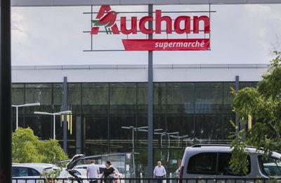 Auchan va supprimer 1 088 emplois
