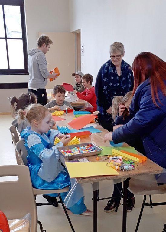 """Carnaval des enfants et Soirée """"Jeux et croque"""""""