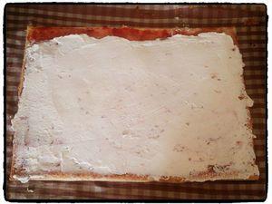 Roll Cake à la fraise
