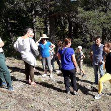 ccapv : Annot inauguration de la forêt pédagogique