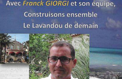 Franck Giorgi des projets pour l'animation du Lavandou