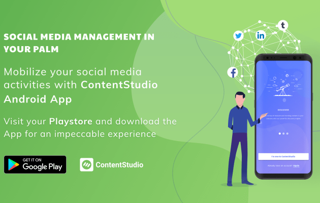 ContentStudio offers a complete content marketing and social media management solution