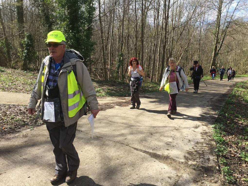 Sortie journée Rando pour tous Sceaux et environs dimanche 3 avril 2016 21 km