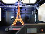 Démonstration d'imprimantes 3D MakerBot au Laboratoire du BHV