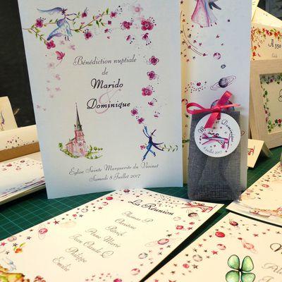 Voici venu le temps de préparer votre décoration de mariage !