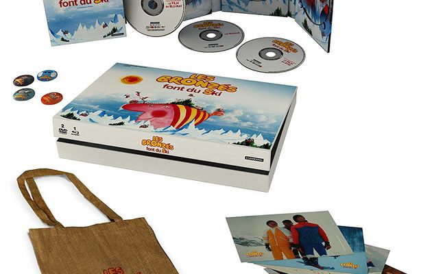 [REVUE CINEMA BLU-RAY] LES BRONZES FONT DU SKI (EDITION COLLECTOR)