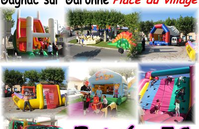 Parc d'attractions le 5 octobre!