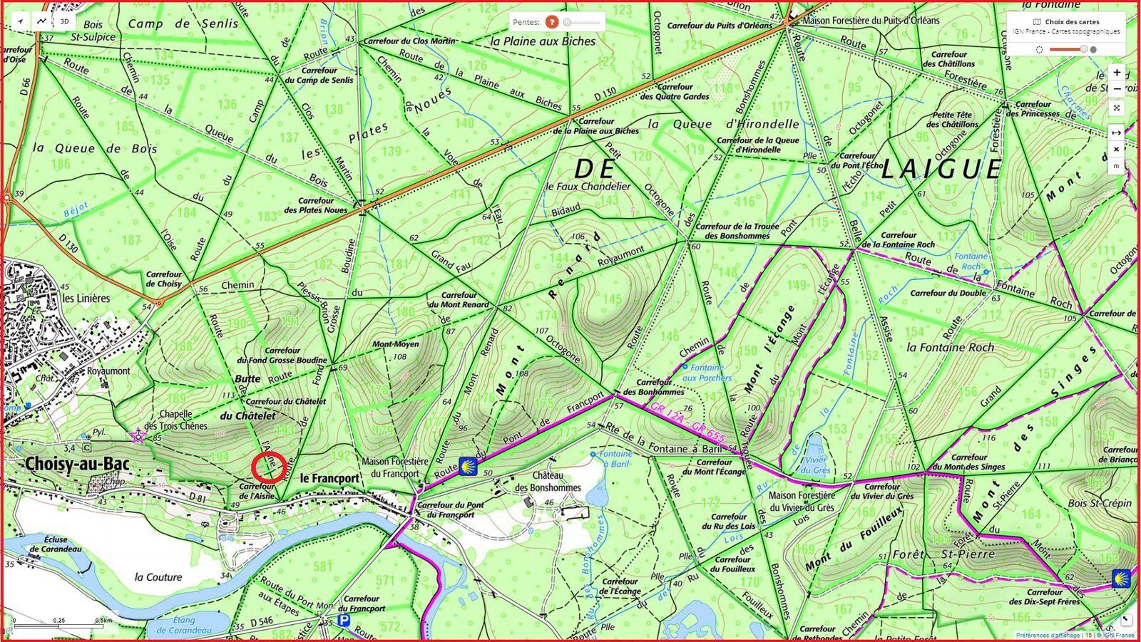 carrefour_Route de l'Aisne_Sentier (parcelle 194)