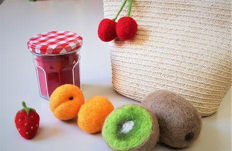 Atelier fruits feutrés Mercredi 15 juillet