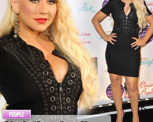 Christina Aguilera respire le parfum !