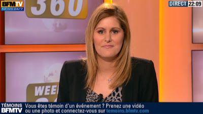 2013 02 23 - CAROLINE BAUER - BFM TV - WEEK-END 360 'SPORTS' @22H08